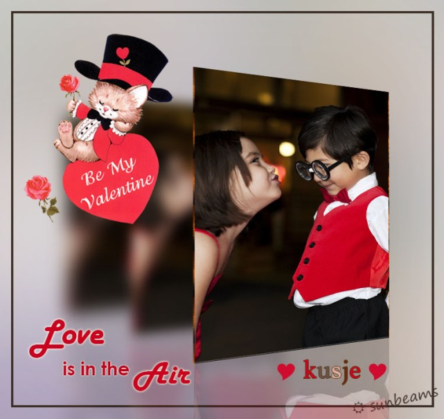 Photoshop creatie - Happy Valentines day