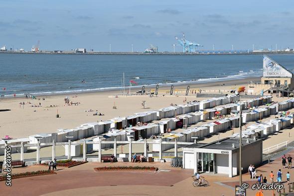 richting Zeebrugge